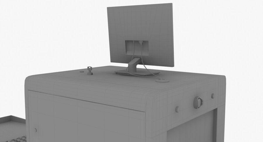 Coleção 6 de equipamentos para interiores de aeroportos royalty-free 3d model - Preview no. 32