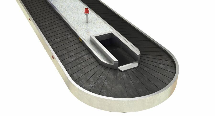 Coleção 6 de equipamentos para interiores de aeroportos royalty-free 3d model - Preview no. 12