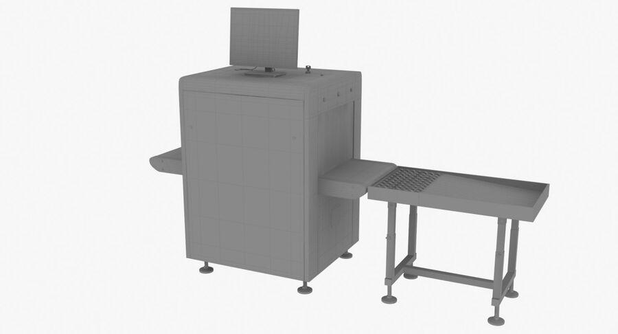 Coleção 6 de equipamentos para interiores de aeroportos royalty-free 3d model - Preview no. 30