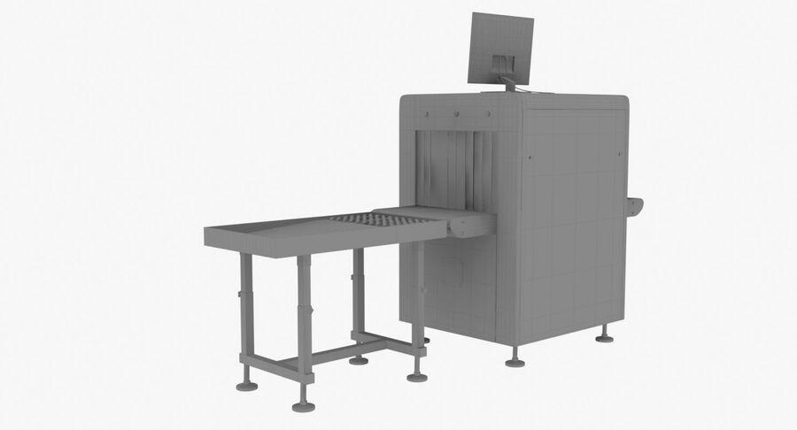 Coleção 6 de equipamentos para interiores de aeroportos royalty-free 3d model - Preview no. 29