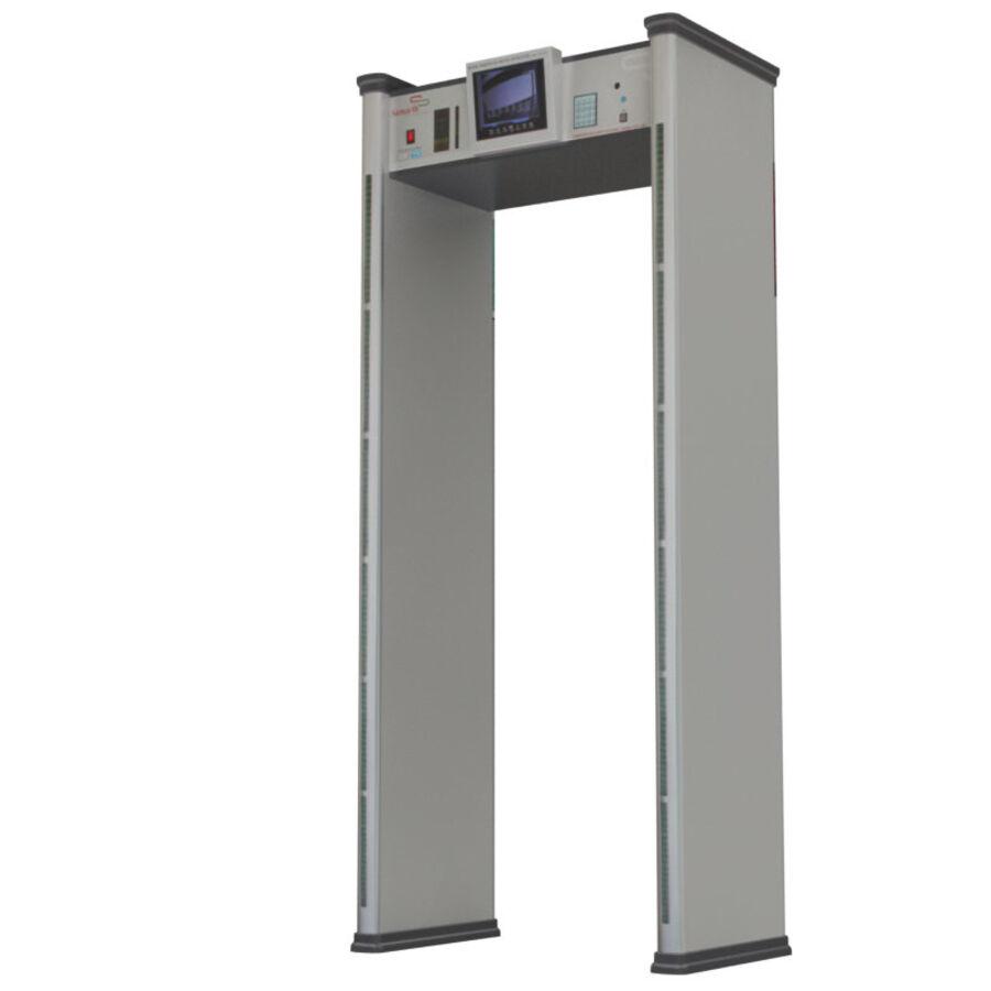 Coleção 6 de equipamentos para interiores de aeroportos royalty-free 3d model - Preview no. 3