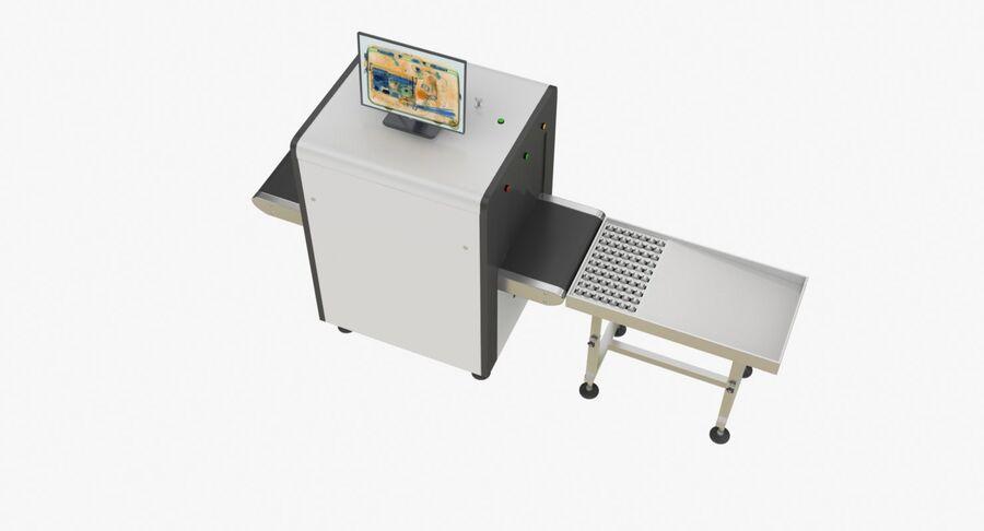 Coleção 6 de equipamentos para interiores de aeroportos royalty-free 3d model - Preview no. 27