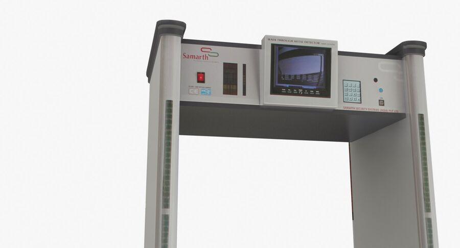 Coleção 6 de equipamentos para interiores de aeroportos royalty-free 3d model - Preview no. 18