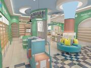 Mother Infant products store 3d model