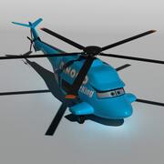 Rotor Turbosky 3d model
