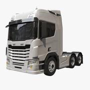 Semi-camion européen générique 3d model