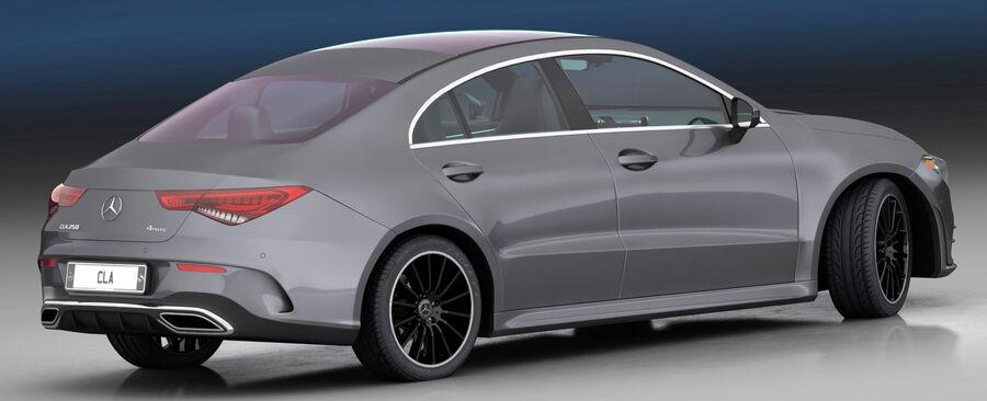 梅赛德斯-奔驰CLA 2020 royalty-free 3d model - Preview no. 9