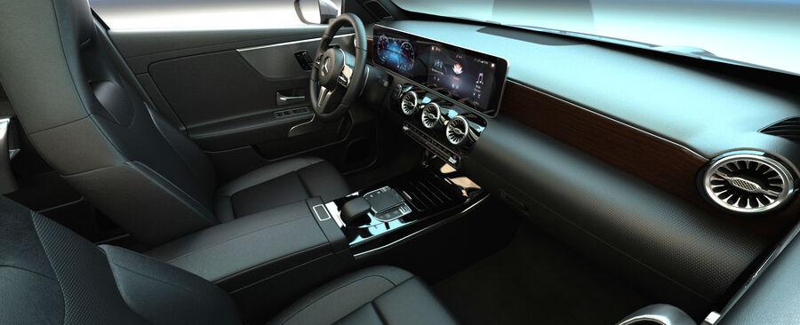 梅赛德斯-奔驰CLA 2020 royalty-free 3d model - Preview no. 15