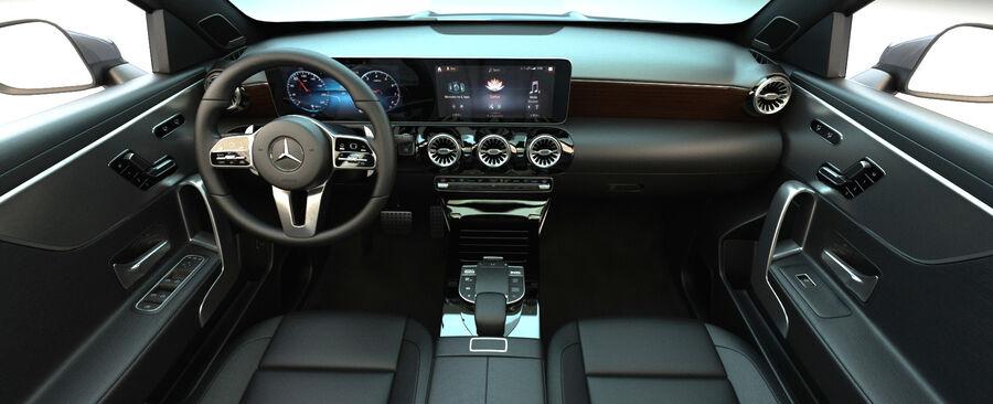 梅赛德斯-奔驰CLA 2020 royalty-free 3d model - Preview no. 16