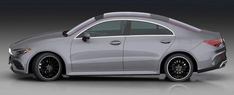 梅赛德斯-奔驰CLA 2020 royalty-free 3d model - Preview no. 7