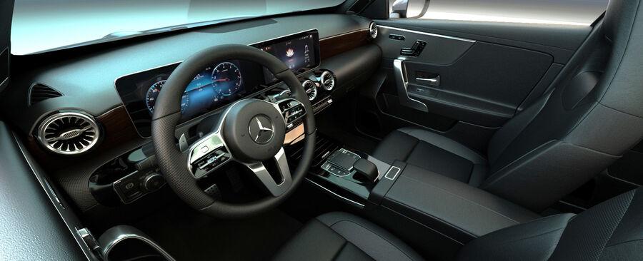 梅赛德斯-奔驰CLA 2020 royalty-free 3d model - Preview no. 14
