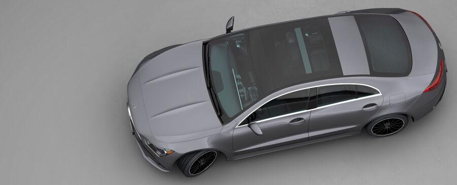 梅赛德斯-奔驰CLA 2020 royalty-free 3d model - Preview no. 5
