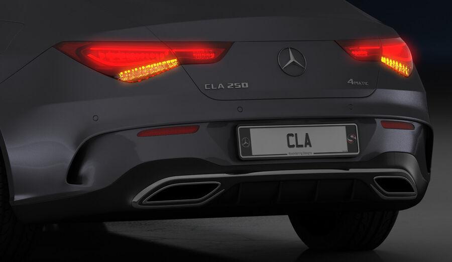梅赛德斯-奔驰CLA 2020 royalty-free 3d model - Preview no. 22