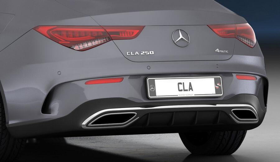 梅赛德斯-奔驰CLA 2020 royalty-free 3d model - Preview no. 21
