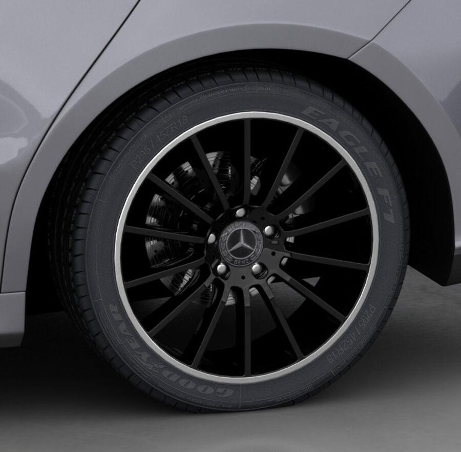 梅赛德斯-奔驰CLA 2020 royalty-free 3d model - Preview no. 20