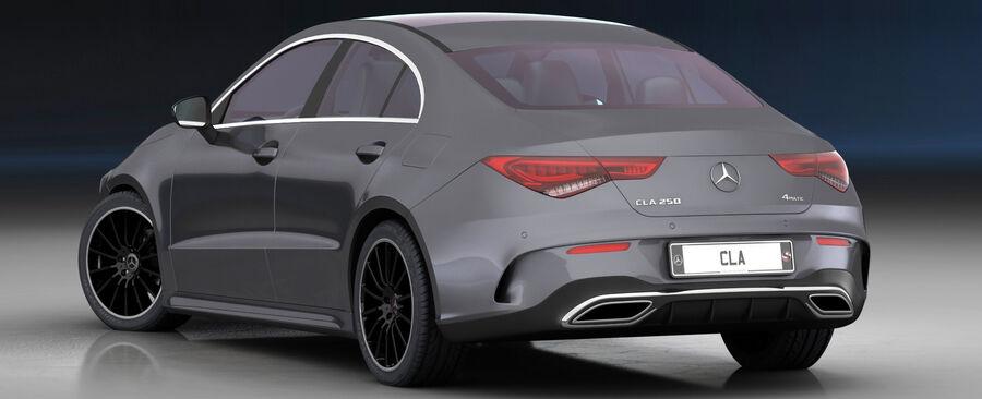 梅赛德斯-奔驰CLA 2020 royalty-free 3d model - Preview no. 8