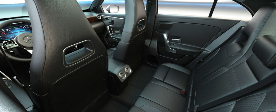 梅赛德斯-奔驰CLA 2020 royalty-free 3d model - Preview no. 17