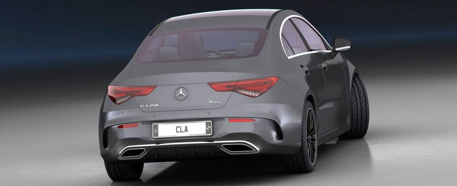 梅赛德斯-奔驰CLA 2020 royalty-free 3d model - Preview no. 10