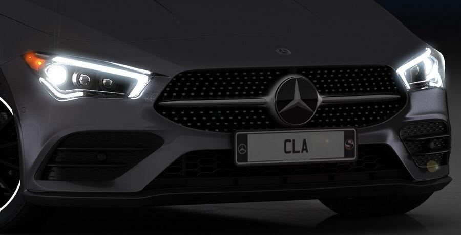梅赛德斯-奔驰CLA 2020 royalty-free 3d model - Preview no. 19