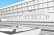 ロボット工学および技術サイバネティックスRTCのためのロシア国家科学センター 3d model