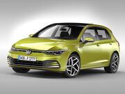 폭스 바겐 골프 (2020) 3d model