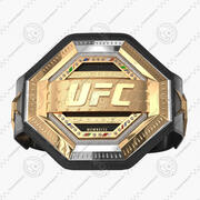 Cinto de campeão do UFC torcido 3d model