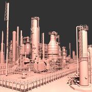 Mega-Ölraffinerie 3d model