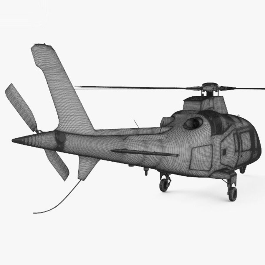 AgustaWestland AW109 royalty-free 3d model - Preview no. 4