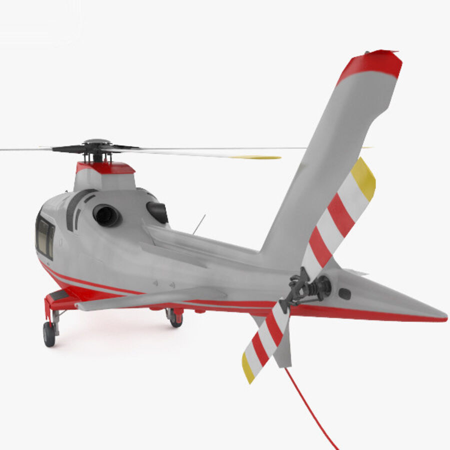 AgustaWestland AW109 royalty-free 3d model - Preview no. 7