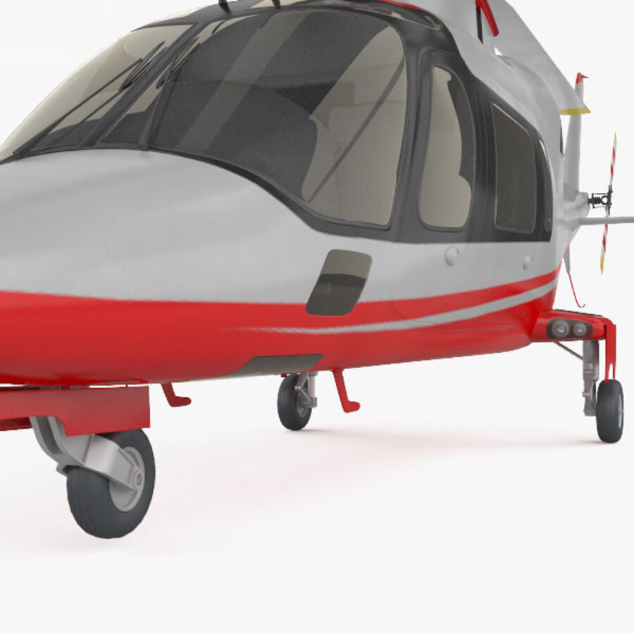 AgustaWestland AW109 royalty-free 3d model - Preview no. 8