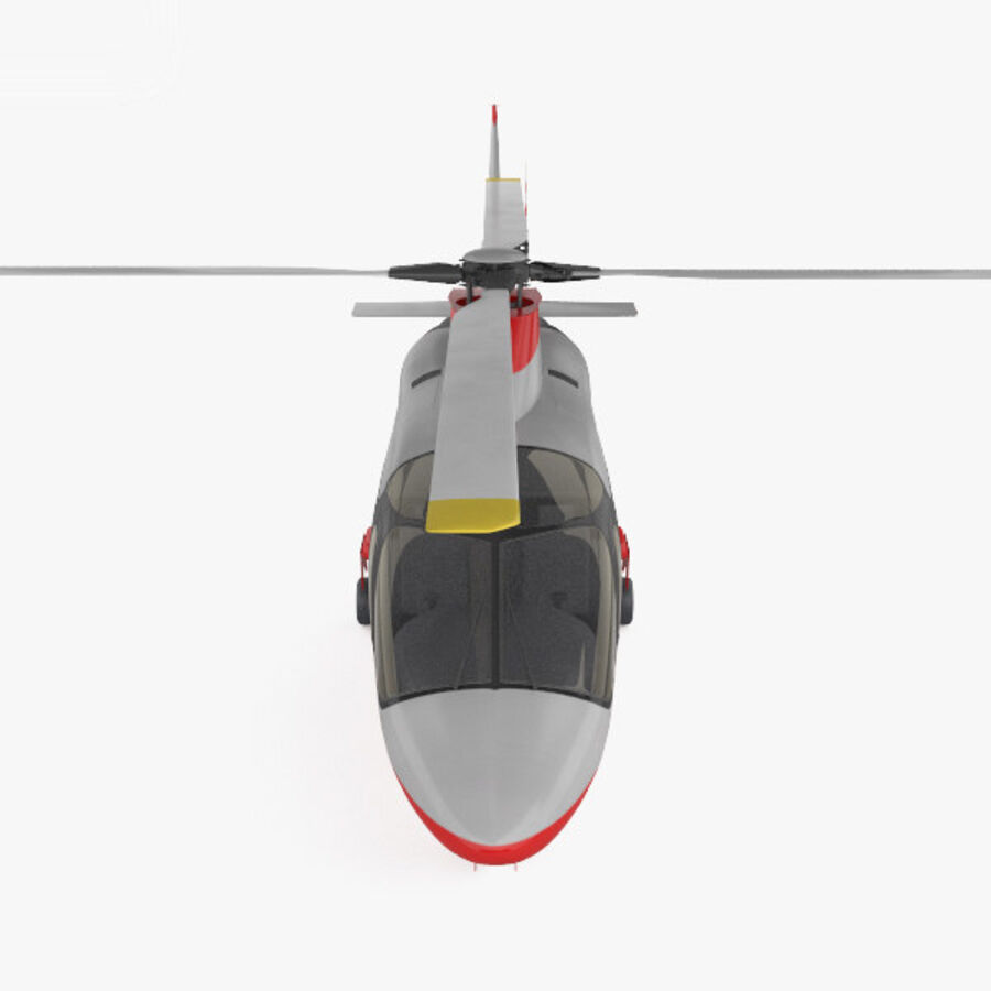 AgustaWestland AW109 royalty-free 3d model - Preview no. 10