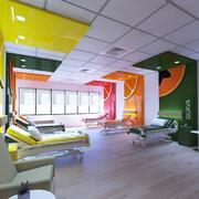 Innenraum des Krankenhauszimmers 3d model