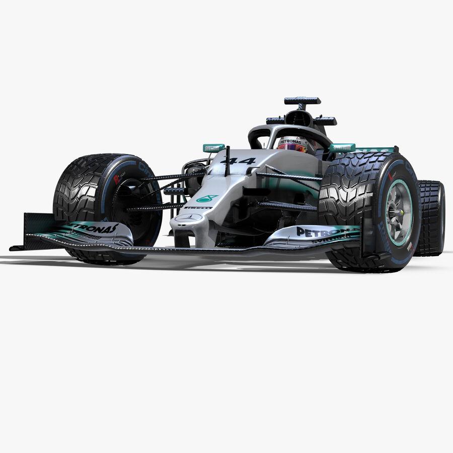 Mercedes Amg F1 W10 Eq Power 2019 3d Model 199 Obj Ma Fbx Dae C4d 3ds Unknown Free3d