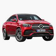 Mercedes-Benz GLE Coupe 2020 года 3d model