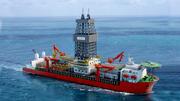 Seadrill Drill Ship 3d model