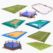 大体育竞技场收藏2 3d model