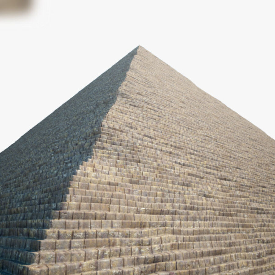Pyramid av Cheops royalty-free 3d model - Preview no. 6