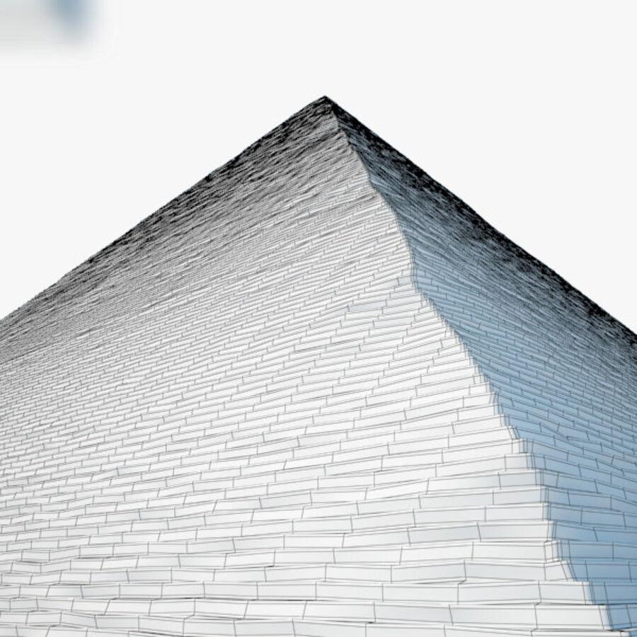 Pyramid av Cheops royalty-free 3d model - Preview no. 11