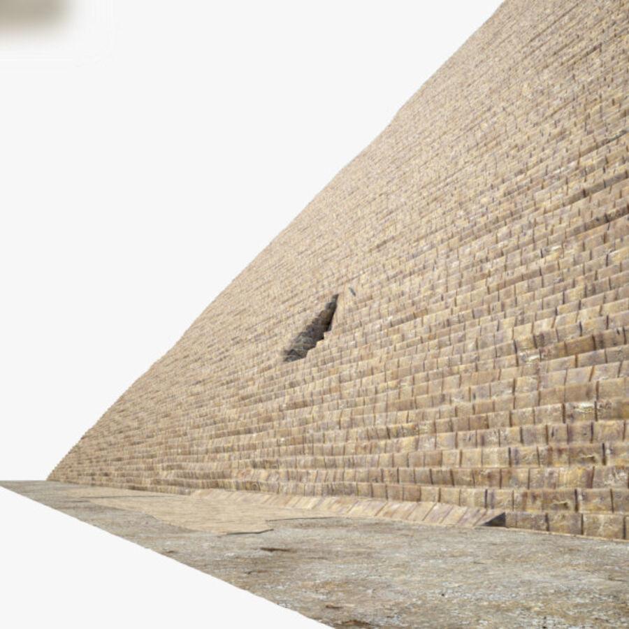 Pyramid av Cheops royalty-free 3d model - Preview no. 4