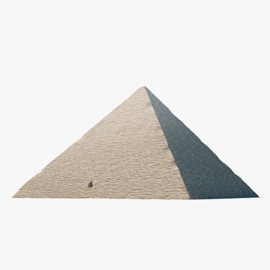 Pyramid av Cheops royalty-free 3d model - Preview no. 1