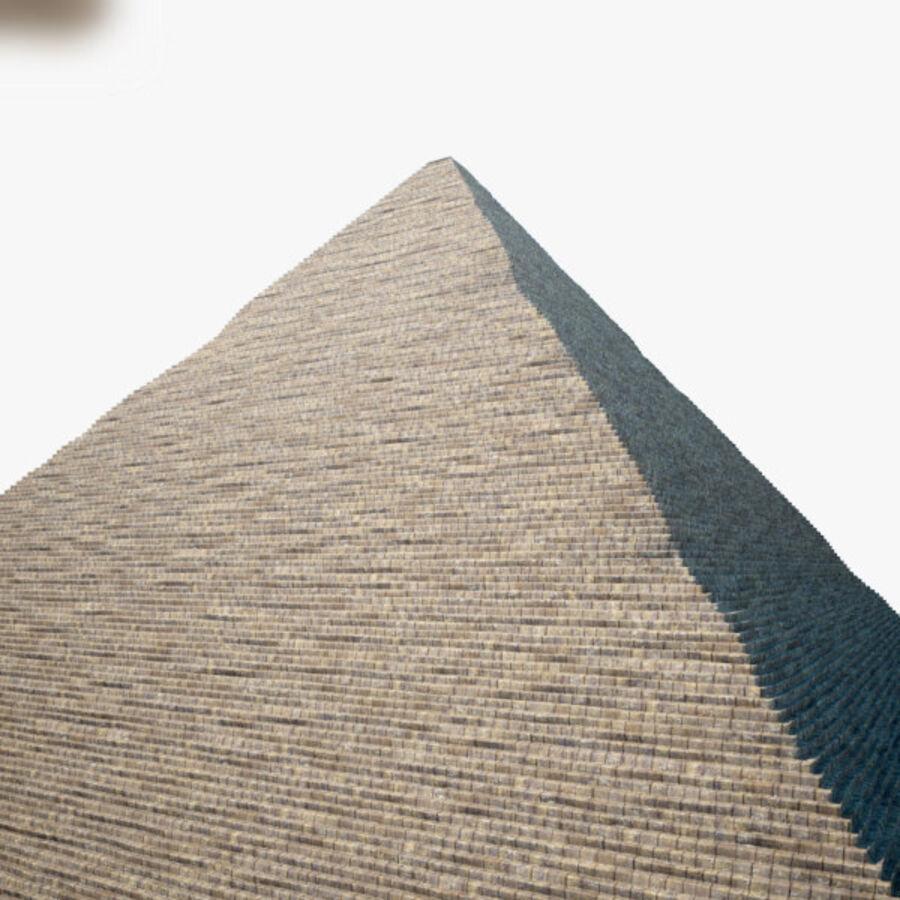 Pyramid av Cheops royalty-free 3d model - Preview no. 8