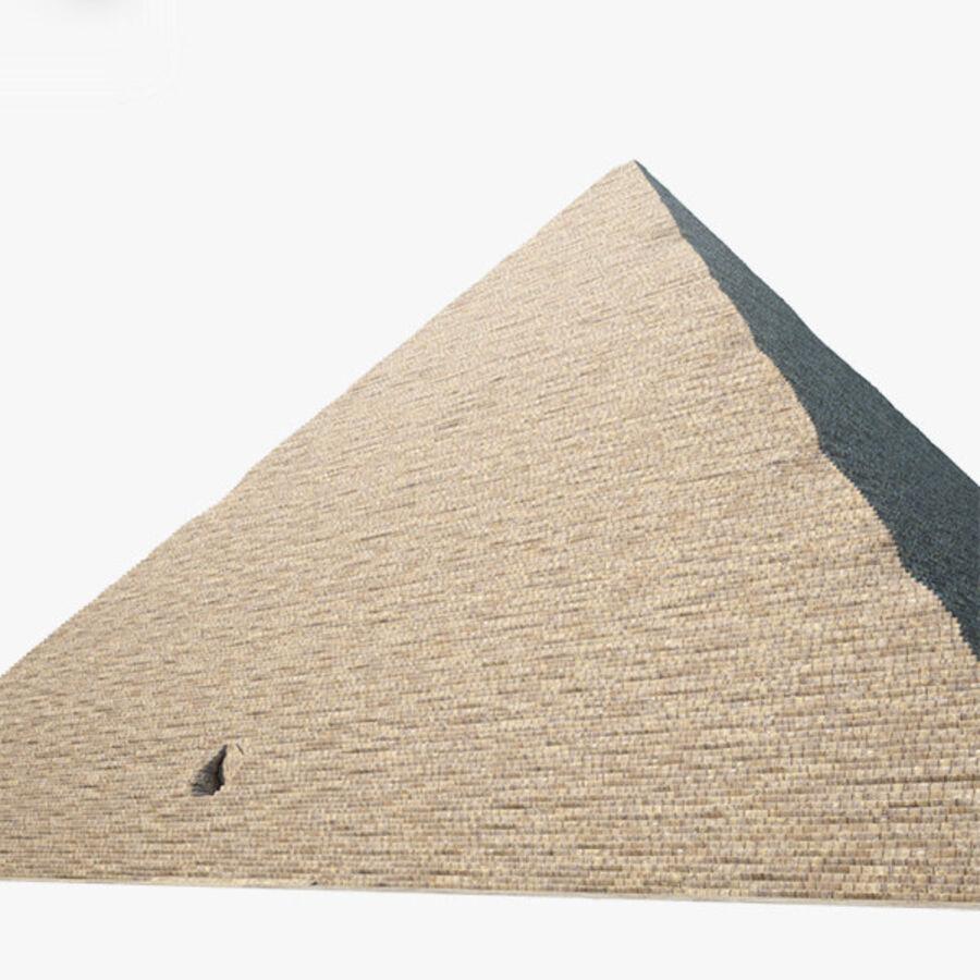 Pyramid av Cheops royalty-free 3d model - Preview no. 2