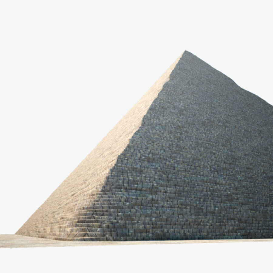 Pyramid av Cheops royalty-free 3d model - Preview no. 12