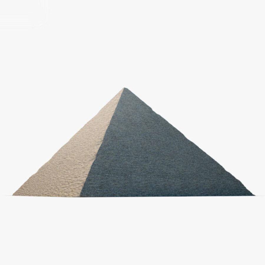 Pyramid av Cheops royalty-free 3d model - Preview no. 14