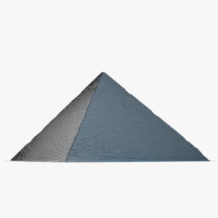 Pyramid av Cheops royalty-free 3d model - Preview no. 15