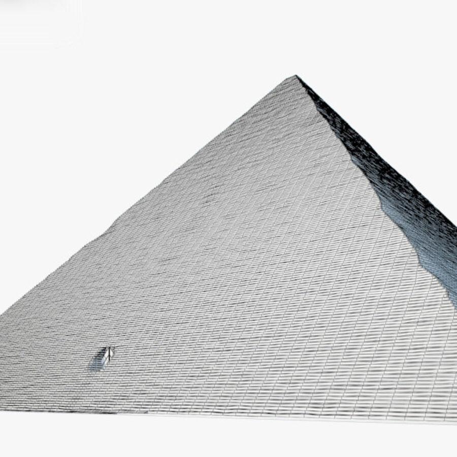 Pyramid av Cheops royalty-free 3d model - Preview no. 3