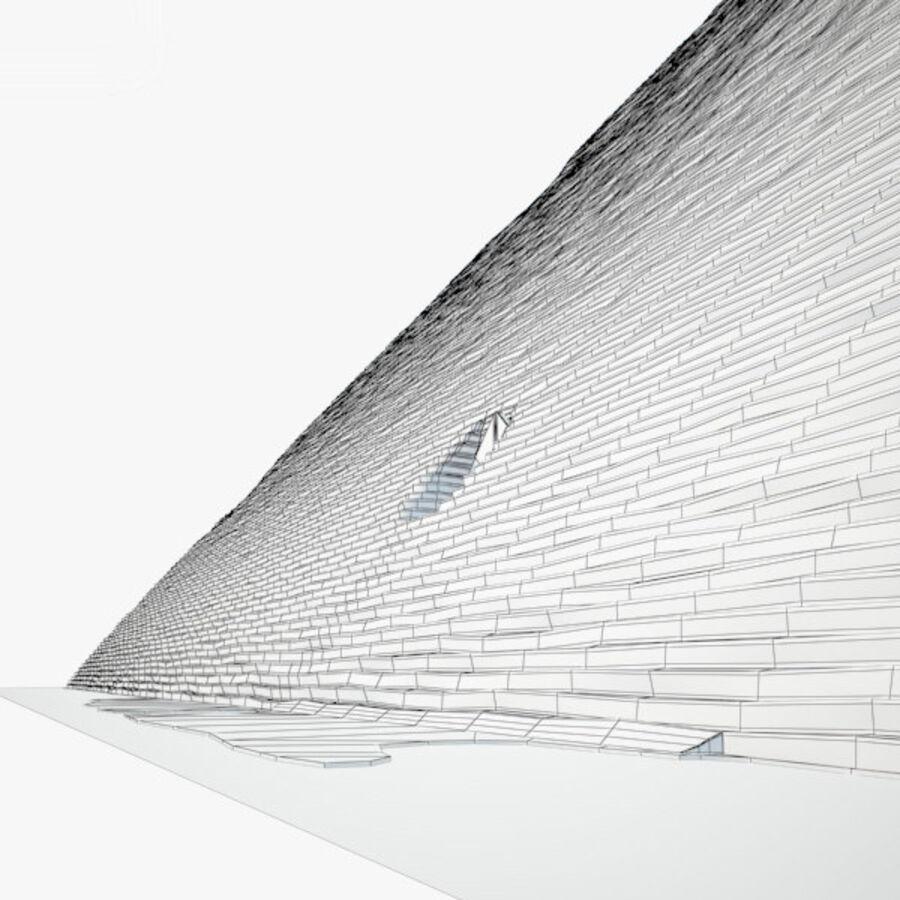 Pyramid av Cheops royalty-free 3d model - Preview no. 5