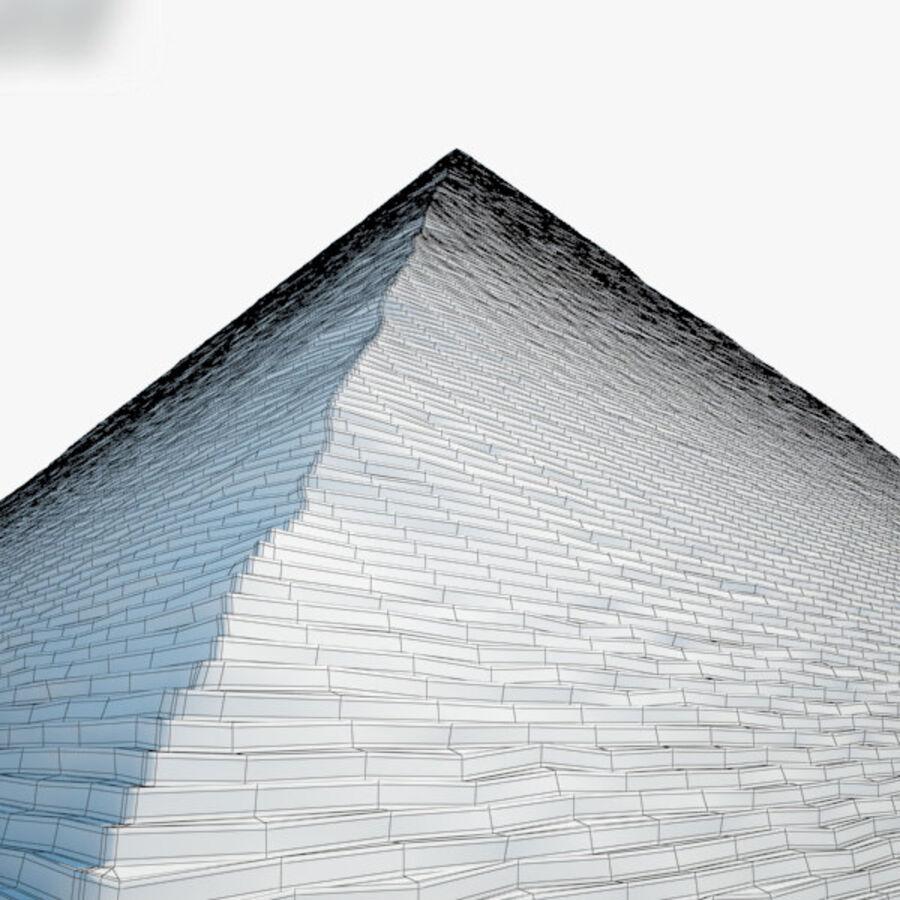 Pyramid av Cheops royalty-free 3d model - Preview no. 7
