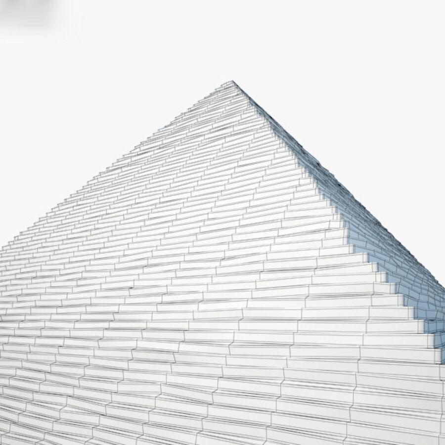 Пирамида Менкаура royalty-free 3d model - Preview no. 15