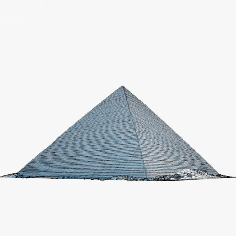 Menkaure-pyramiden royalty-free 3d model - Preview no. 17
